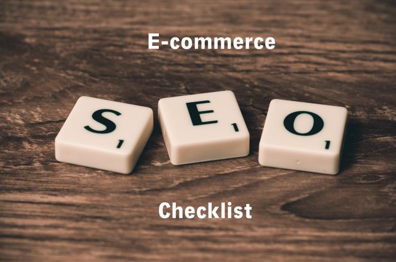 SEO ecommerce checklist