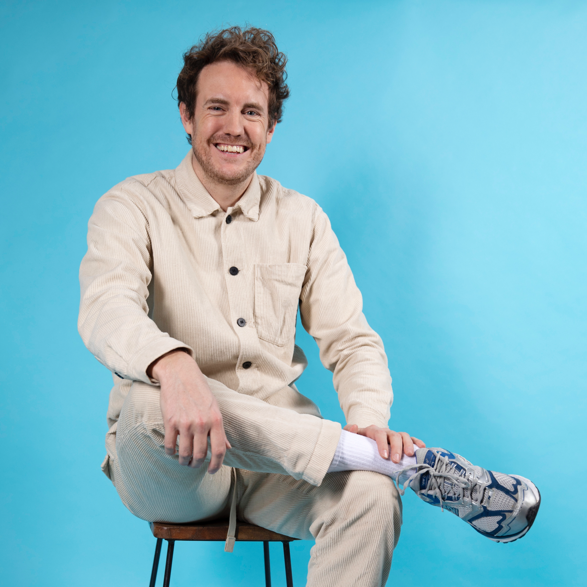 Foto van Bart Snijders, de founder van Sprints & Sneakers